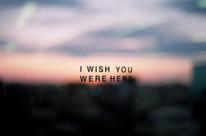 ... , distance, love, pink floyd, quotes, typography, wish you were here