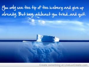 Iceberg Quote