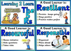 Created for a KS3 class - what makes a good learner.