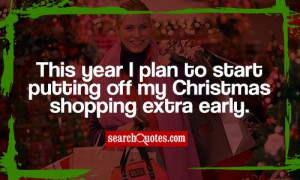 Christmas Shopping Quotes Funny Funny christmas shopping