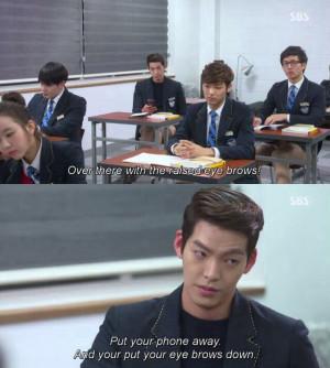 Kim Woo Bin (Heirs) - loved this scene!!