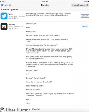 funniest App Store update I've ever read | Funny Pictures, Quotes ...