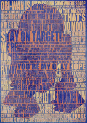 r2d2 star wars quotes poster