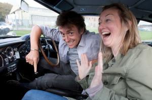 Richard Hammond takes the Mirror TV Editor Nicola Methven for a spin ...