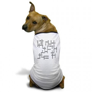 ... Phoebe Pet Stuff > Friends TV show character crossword Dog T-Shirt