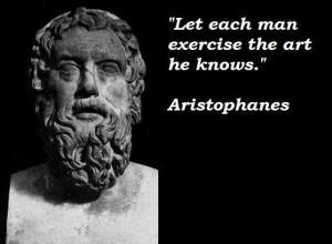 Aristophanes quotes 2