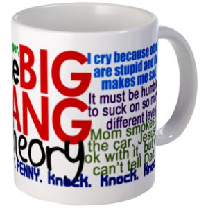 You are here: Home / Funny Quotes / Big Bang Theory Quotes Mug
