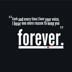 Together forever quote