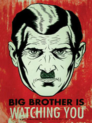 future that is swiftly becoming a reality, read George Orwell's 1984 ...