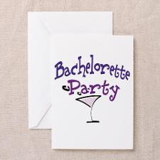 Bachelorette Party Greeting Card for