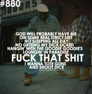 Notorious Big Quote...