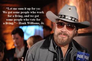 Graphic Quotes: Hank Williams, Jr.