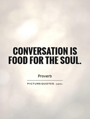 Food for the Soul Quotes