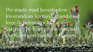 Top Quotes About Abandoned Love