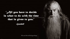 """Top Quotes by Gandalf from """"The Lord of the Rings"""""""