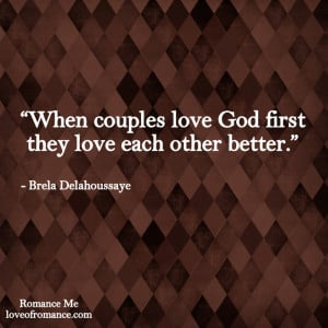 Love God First Quote
