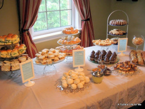 Ladies Tea party for baby shower