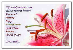 ... LIFE is LIFE itself… Have a wonderful Day!!! Plzz share with family