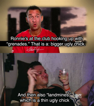 Jersey Shore Funny Quotes