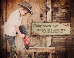 Boots. Chaps & Cowboy Hats… Nothing Else Matters