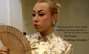 quotes memoirs of a geisha geisha makeup