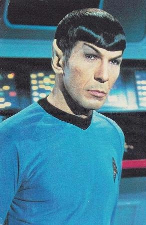 If I had Mr Spock in my practice, he would have been easily ...