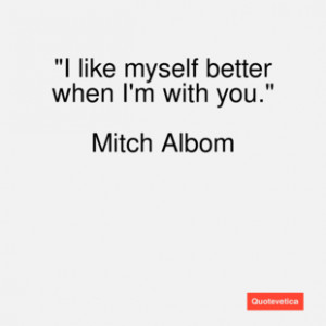 Mitch Albom Quotes When All