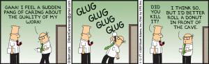 EXCLUSIVE: Dilbert Creator Scott Adams Shares His 10 Favourite Strips