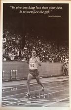 STEVE PREFONTAINE QUOTE poster 11 x 17