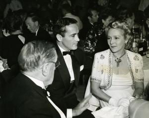 Mary Pickford And Husband, Buddy Rogers At Ciro's Nightclub On Sunset ...
