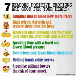 reason positive emotions are good for your heart # positivethinking ...