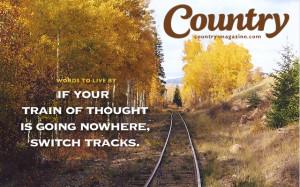 Scenic railroad tracks near Chama, New Mexico. These tracks are still ...