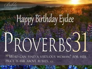 Birthday Bible Verses For Mom...