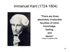 Se dice de Immanuel Kant que era de costumbres tan regulares que los ...