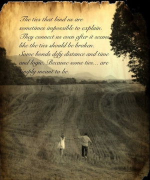 some_ties_are_simply_meant_to_be_love_photography_quote_quote