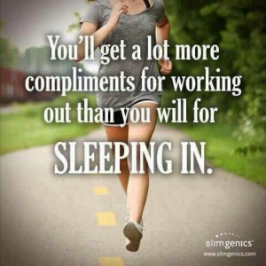 Early morning workouts rock!