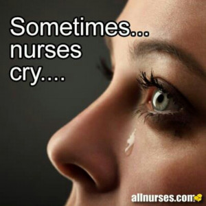 It's ok to cry...