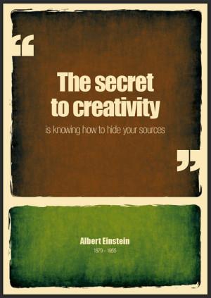 albert einstein, witty, sayings, quotes, about creativity / Inspira...