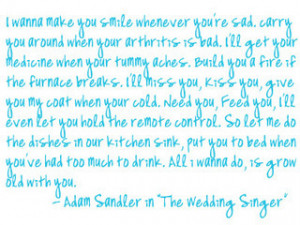 adam sandler the wedding singer quote photo adam.png