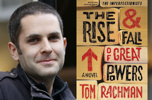 Tom Rachman I consider myself a realist with a sprinkling of