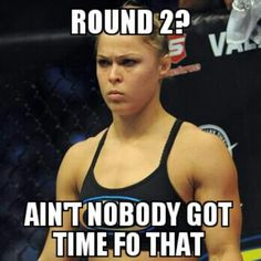 Love Ronda Rousey More