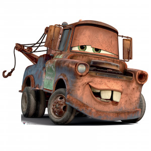 disney s cars 2 mater standup thepartyworks
