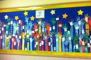 5th grade art projects hands reach for the stars – Google Search