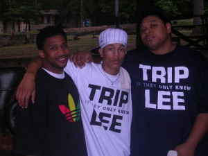 Picture shows Da' T.R.U.T.H., Trip Lee and Tedashii (from left to ...