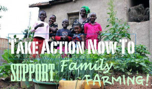 Sign Up To Support Family Farming