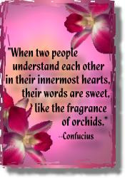 Orchids Quotes Sayings