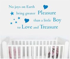 So true. I love my baby boy, even the baby trantums he's throwing at ...