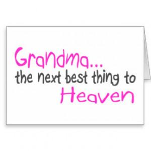 Grandma Quotes Cards & More