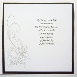 Funeral wreath wording Related search of Wording For Funeral Thank You ...
