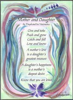 ... daughter original poem inspirational quote family print mom mother s